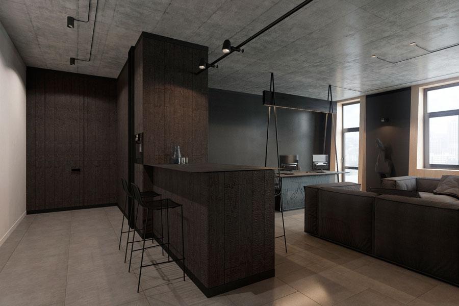 Thiết kế phòng làm việc 40 m2 ảnh 5