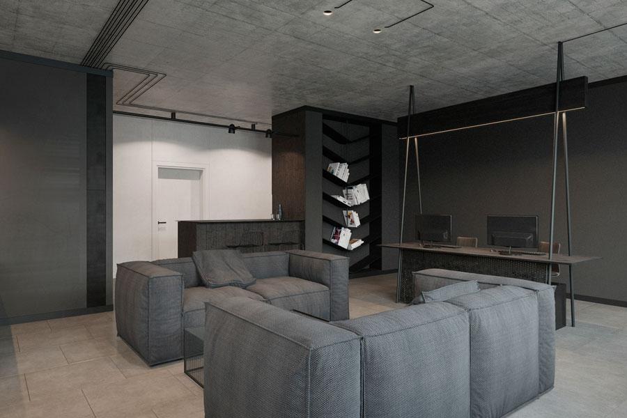Thiết kế phòng làm việc 40 m2 ảnh 6
