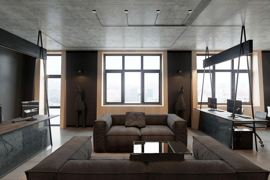 Thiết kế phòng làm việc 40 m2 ảnh 7