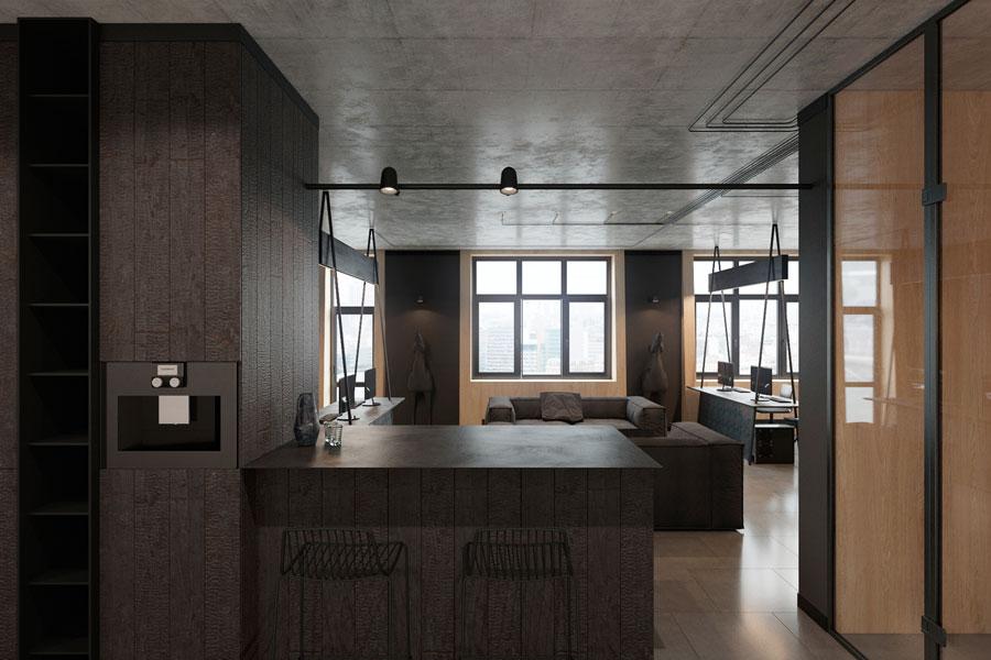 Thiết kế phòng làm việc 40 m2 ảnh 9