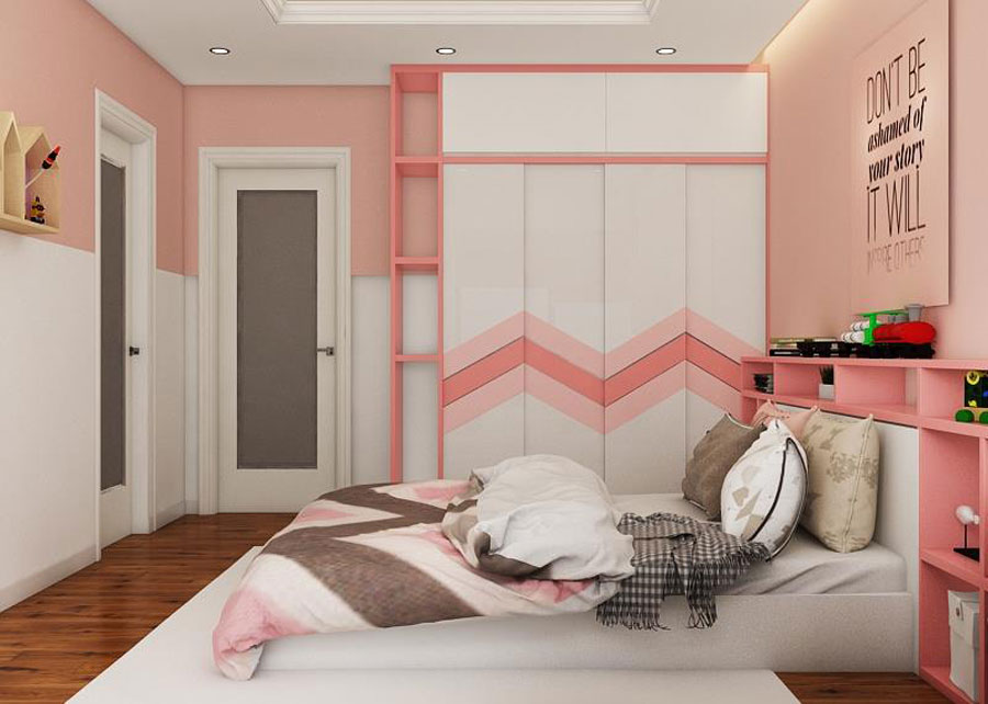 hoàn thiện nội thất nhà phố 2 tầng bằng gỗ ảnh 7