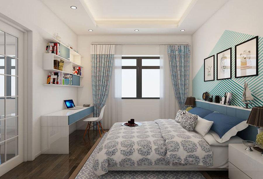 hoàn thiện nội thất nhà phố 2 tầng bằng gỗ ảnh 9