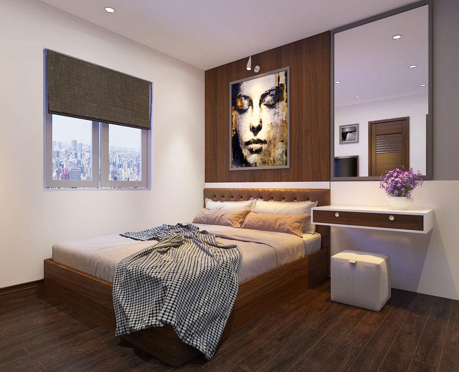 Thiết kế nội thất chung cư 65 m2 hiện đại ảnh 1