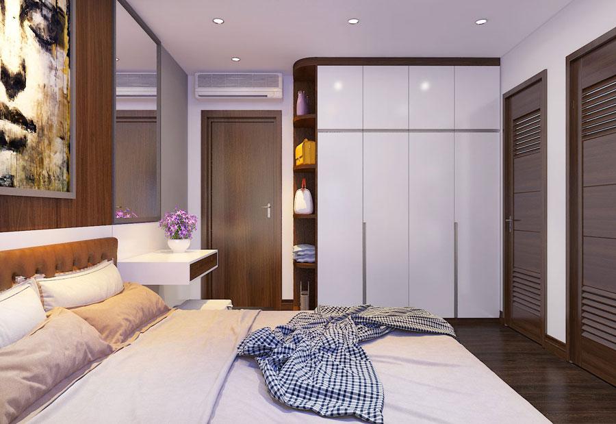 Thiết kế nội thất chung cư 65 m2 hiện đại ảnh 12