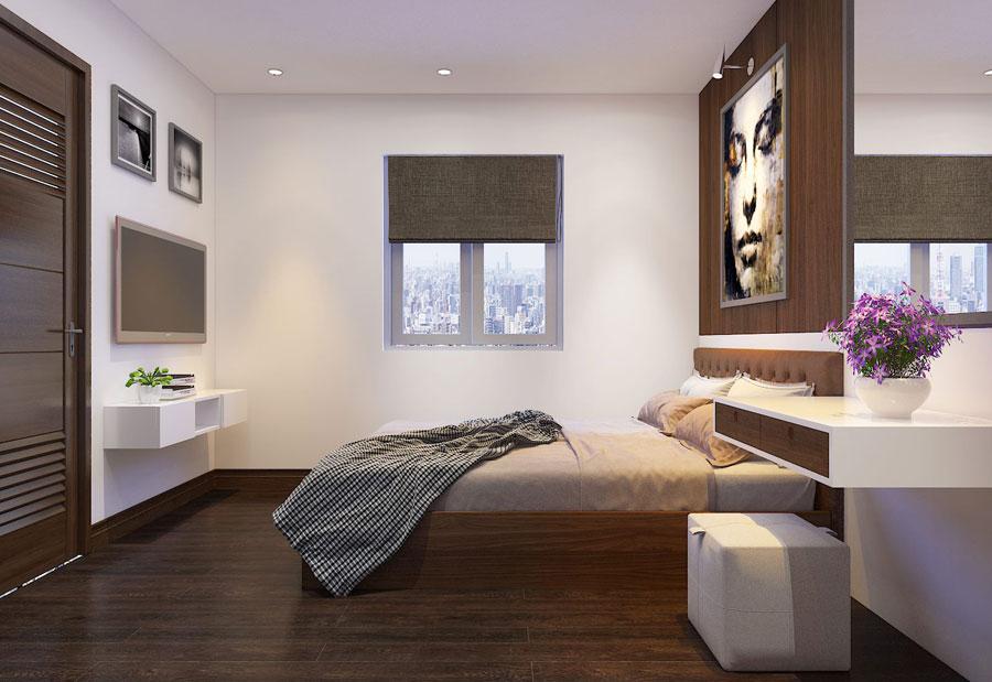 Thiết kế nội thất chung cư 65 m2 hiện đại ảnh 13