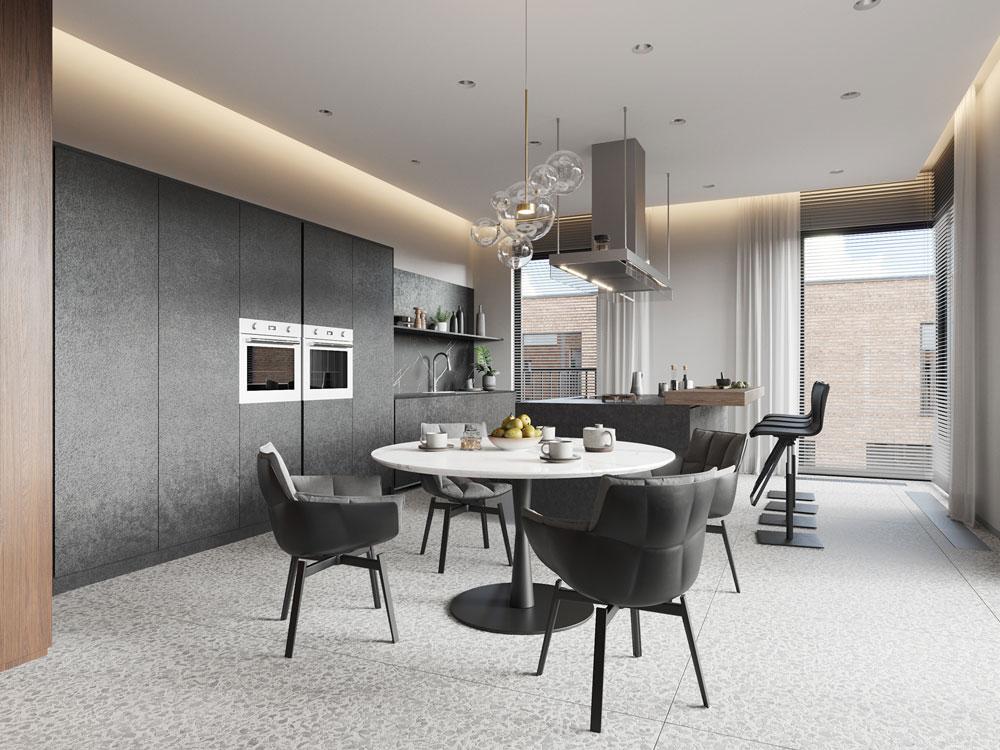 thiết kế nội thất chung cư cao cấp ảnh 14