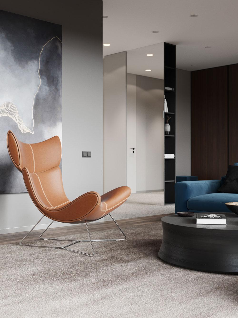 thiết kế nội thất chung cư cao cấp ảnh 19