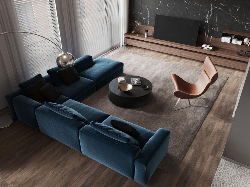 thiết kế nội thất chung cư cao cấp ảnh 25