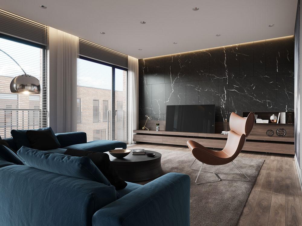 thiết kế nội thất chung cư cao cấp ảnh 5