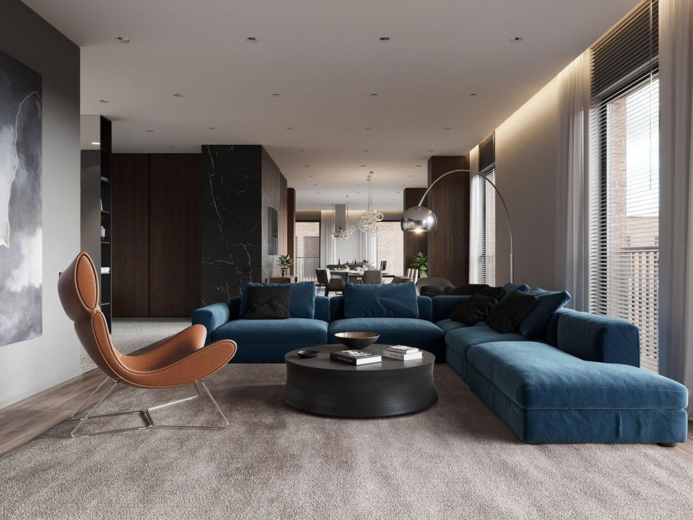 Ý tưởng thiết kế nội thất căn hộ chung cư cao cấp