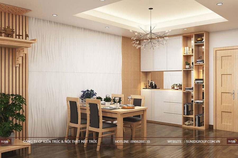 thiết kế nội thất chung cư T&T riveview 440 vĩnh hưng ảnh 1