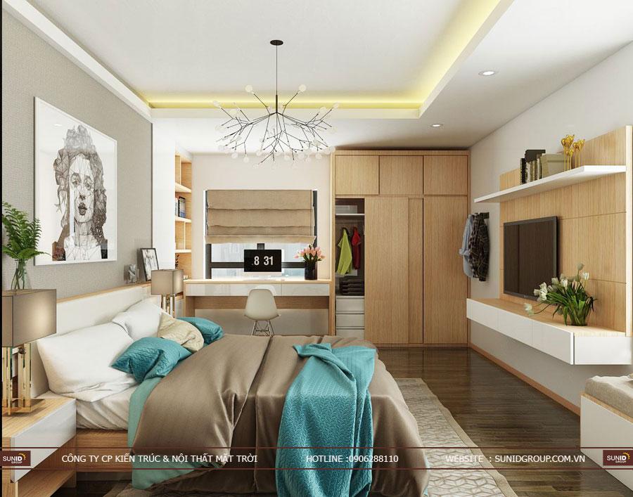 thiết kế nội thất chung cư T&T riveview 440 vĩnh hưng ảnh 10