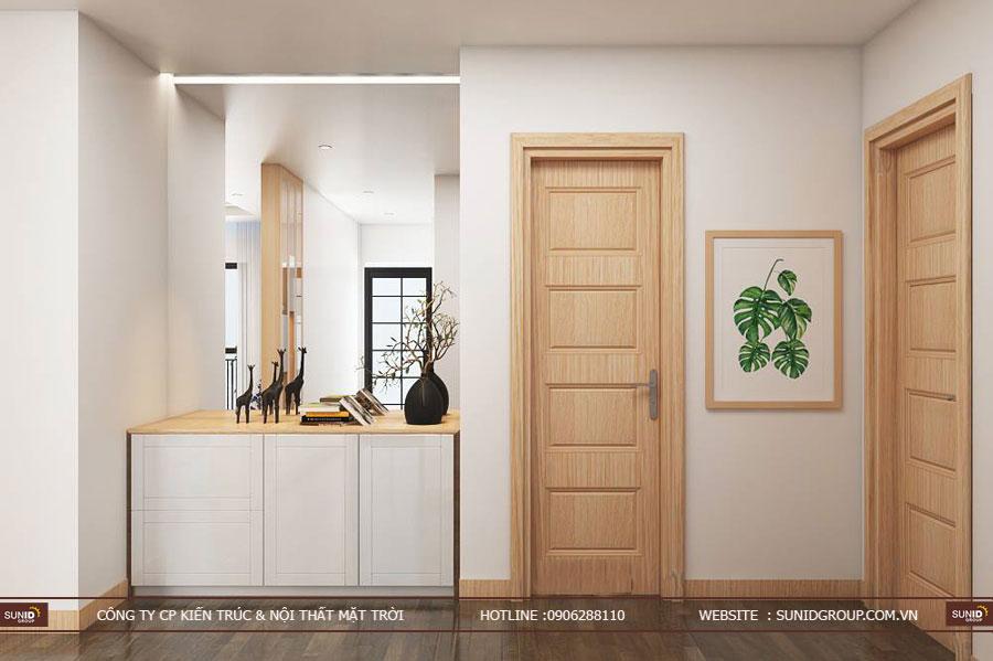 thiết kế nội thất chung cư T&T riveview 440 vĩnh hưng ảnh 11