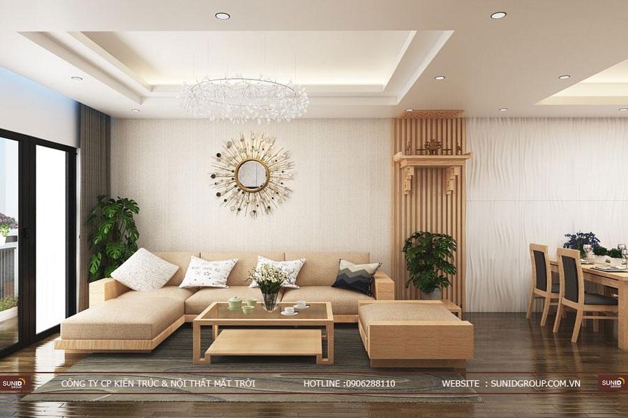 Thiết kế nội thất chung cư T&T Riveview 440 Vĩnh Hưng Hoàng Mai