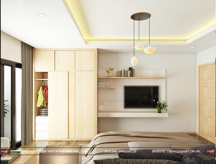 thiết kế nội thất chung cư T&T riveview 440 vĩnh hưng ảnh 14