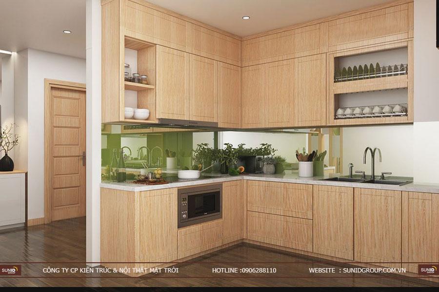 thiết kế nội thất chung cư T&T riveview 440 vĩnh hưng ảnh 15