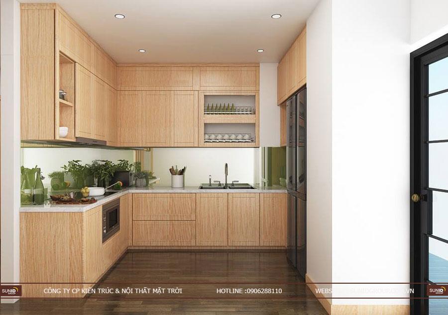 thiết kế nội thất chung cư T&T riveview 440 vĩnh hưng ảnh 17