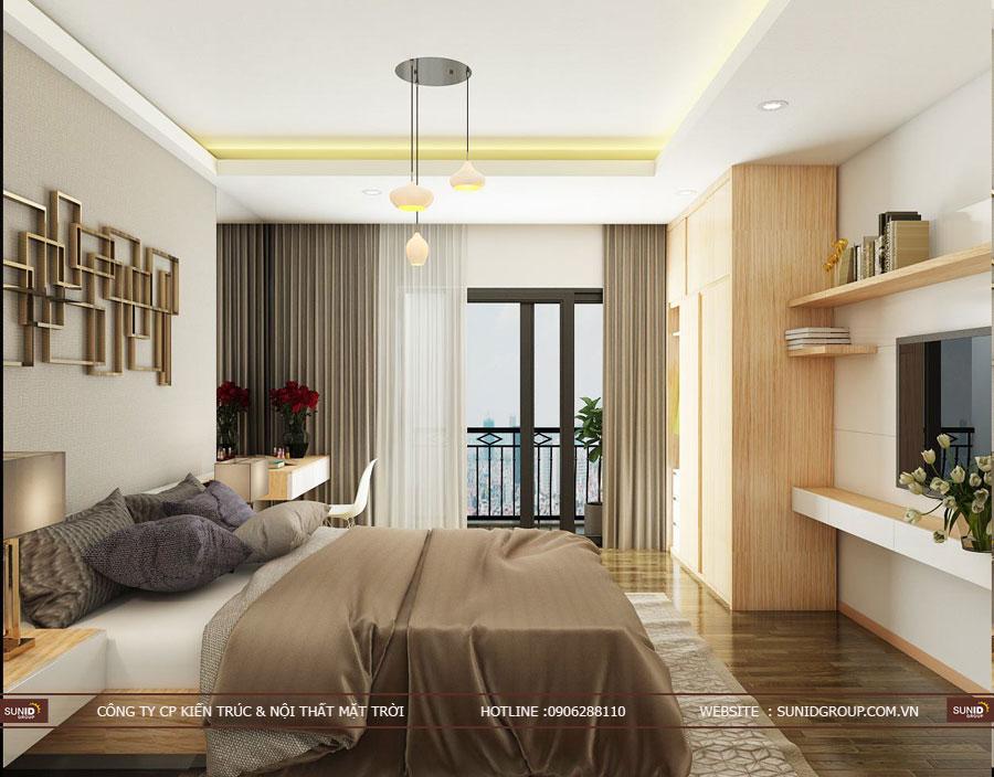 thiết kế nội thất chung cư T&T riveview 440 vĩnh hưng ảnh 3