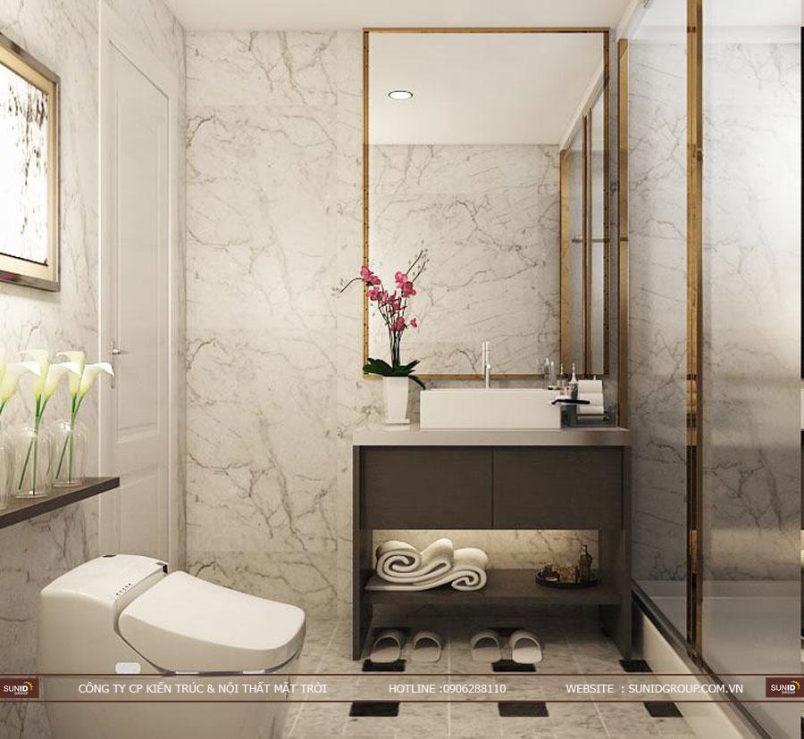 thiết kế nội thất chung cư T&T riveview 440 vĩnh hưng ảnh 4