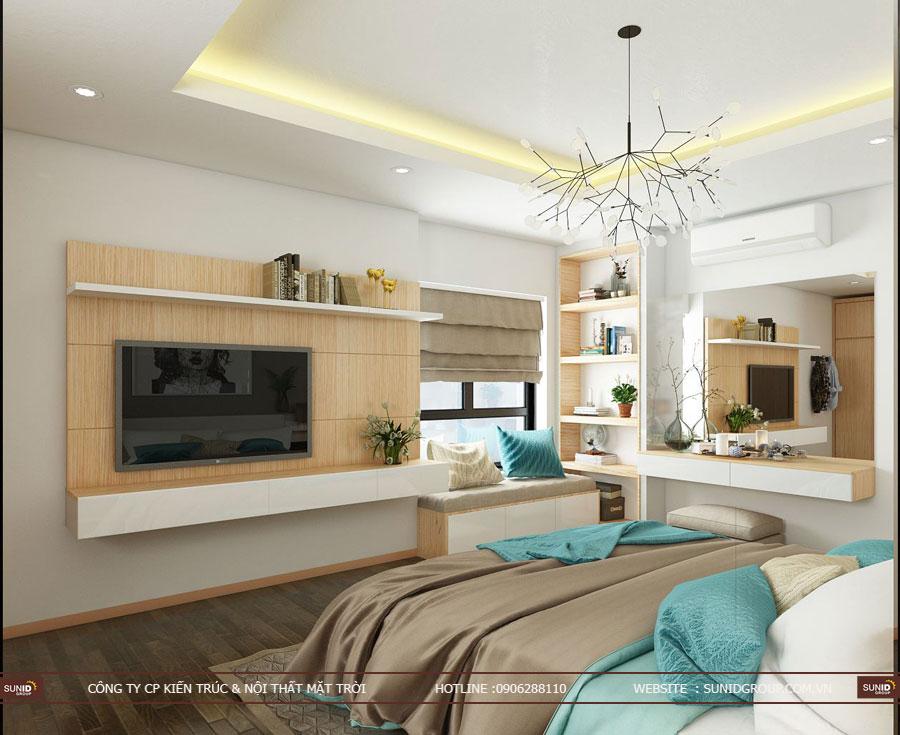 thiết kế nội thất chung cư T&T riveview 440 vĩnh hưng ảnh 6