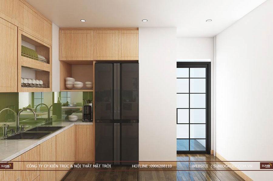 thiết kế nội thất chung cư T&T riveview 440 vĩnh hưng ảnh 7