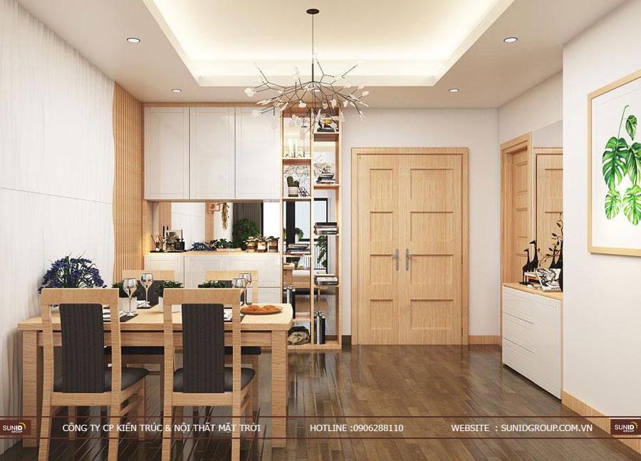 thiết kế nội thất chung cư T&T riveview 440 vĩnh hưng ảnh 8
