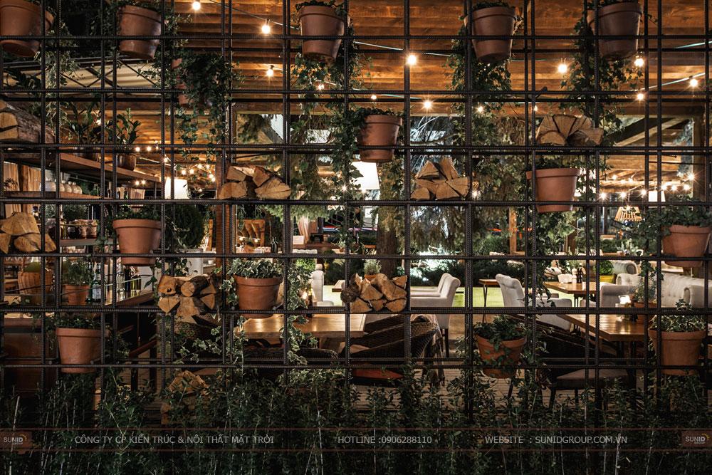 thiết kế nội thất nhà hàng lung linh sang trọng ảnh 10