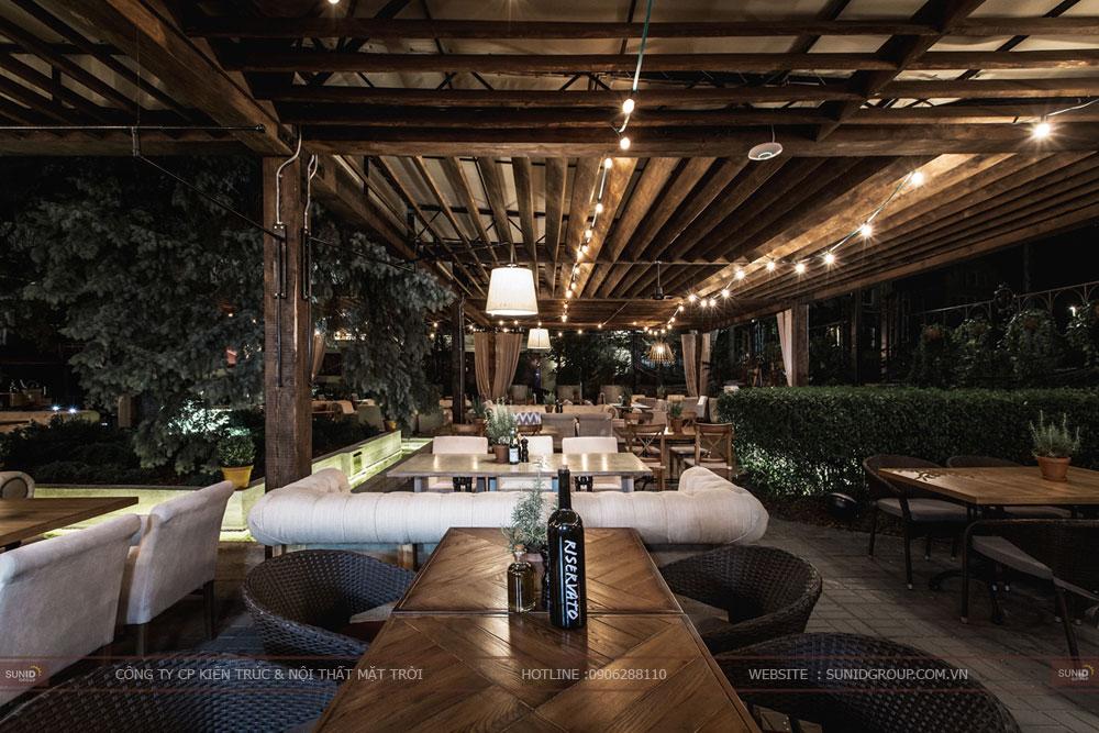 thiết kế nội thất nhà hàng lung linh sang trọng ảnh 8
