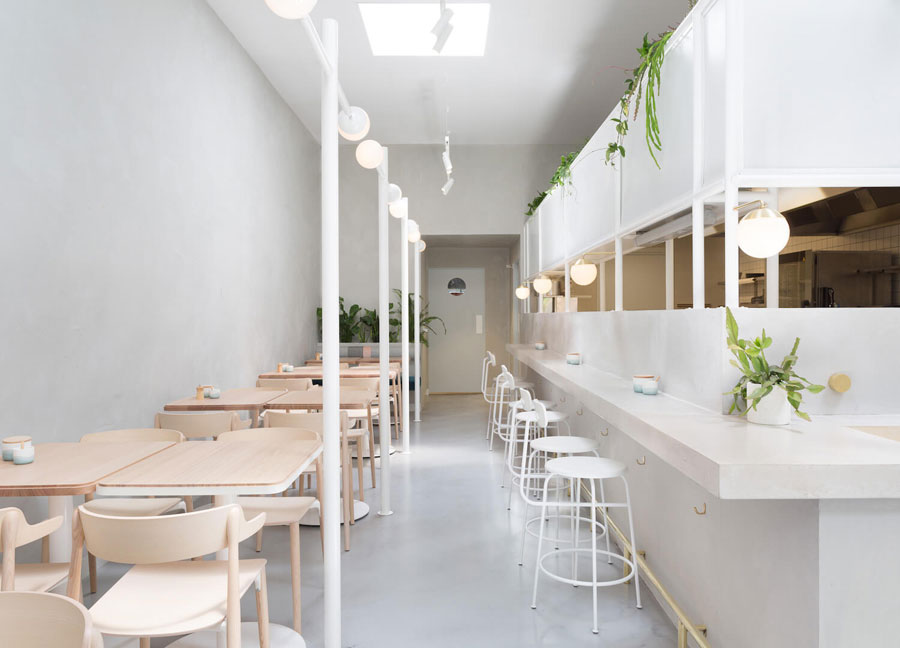 6 ý tưởng thiết kế quán trà sữa nhỏ đẹp lung linh
