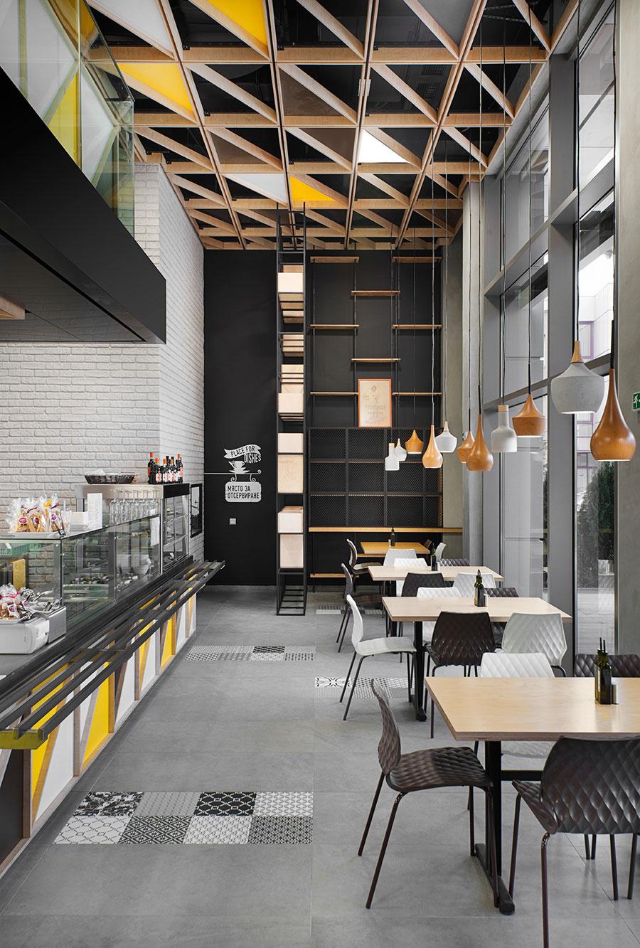 thiết kế quán trà sữa nhỏ đẹp lung linh ảnh 35