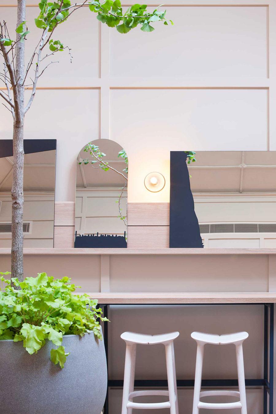 thiết kế quán trà sữa nhỏ đẹp lung linh ảnh 5