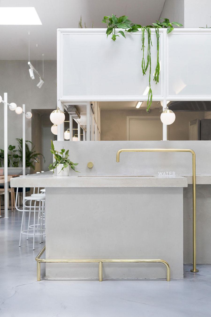 thiết kế quán trà sữa nhỏ đẹp lung linh ảnh 9