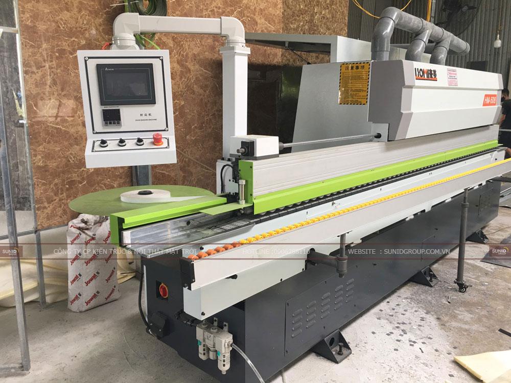 Máy móc trang thiết bị hiện đại tại xưởng sản xuất nội thất Sunid tại Hà Nội - View 01