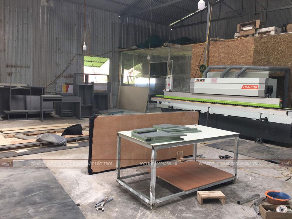 Máy móc trang thiết bị hiện đại tại xưởng sản xuất nội thất Sunid tại Hà Nội - View 04