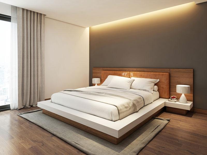 mẫu giường ngủ hiện đại 2018 ảnh 16