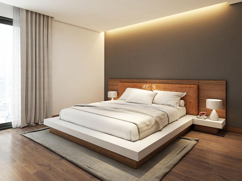 mẫu giường ngủ hiện đại 2018 ảnh 2