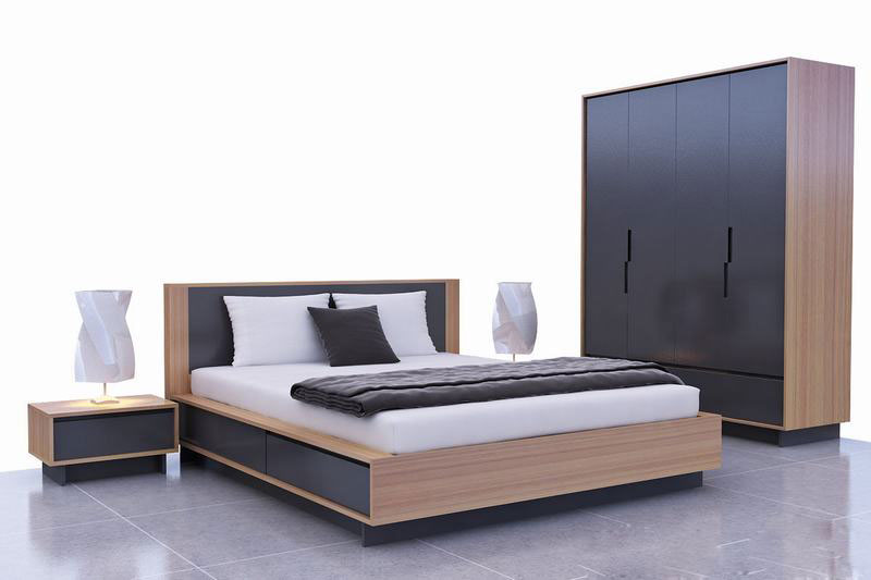 mẫu giường ngủ hiện đại 2018 ảnh 23