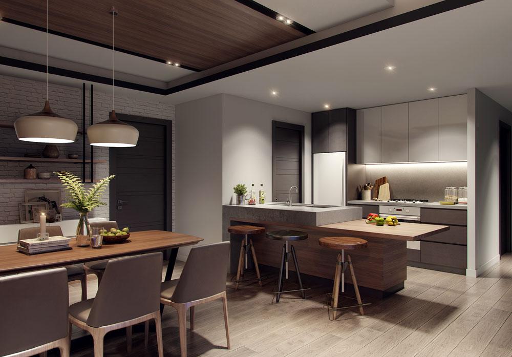 thiết kế nội thất chung cư 58m2 ảnh 3