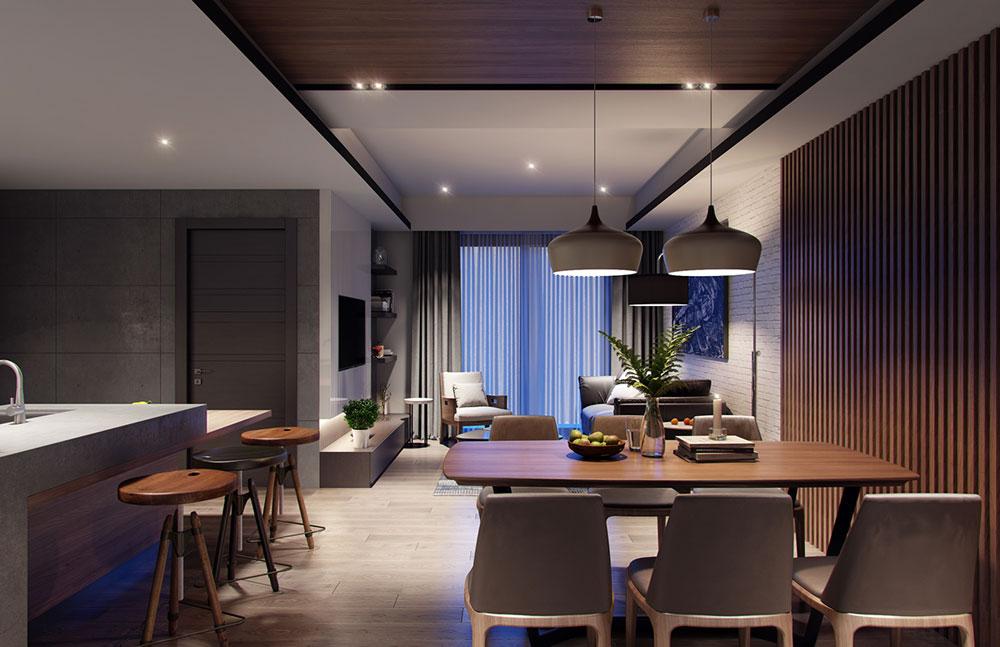 thiết kế nội thất chung cư 58m2 ảnh 5