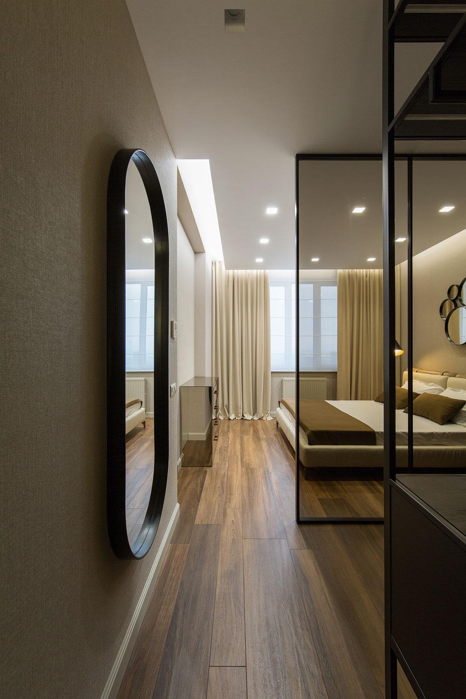 thiết kế nội thất chung cư 70 mét vuông hiện đại ảnh 1