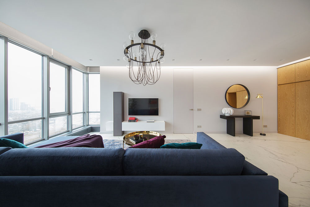 thiết kế nội thất chung cư 70 mét vuông hiện đại ảnh 10