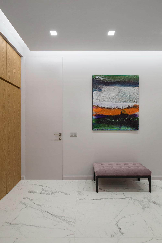 thiết kế nội thất chung cư 70 mét vuông hiện đại ảnh 2