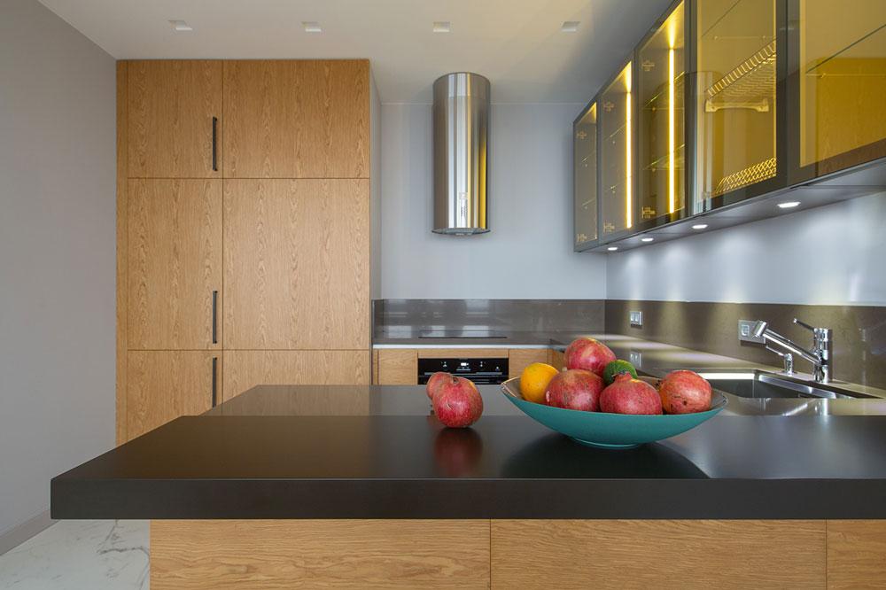 thiết kế nội thất chung cư 70 mét vuông hiện đại ảnh 3
