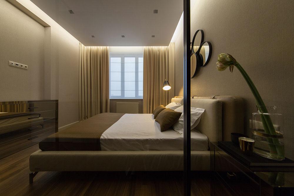 thiết kế nội thất chung cư 70 mét vuông hiện đại ảnh 4