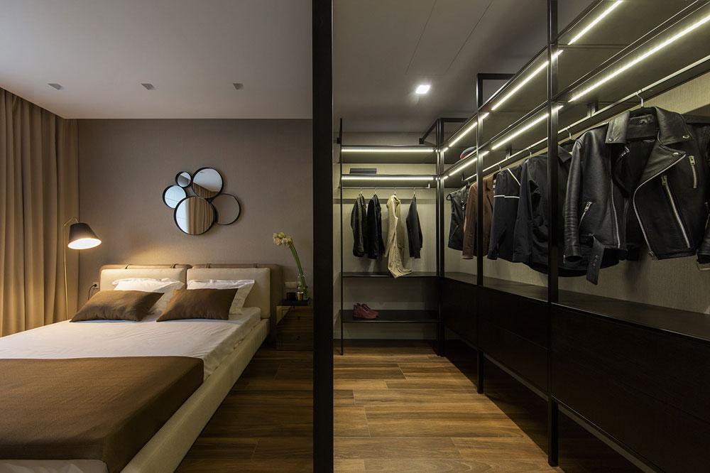 thiết kế nội thất chung cư 70 mét vuông hiện đại ảnh 6