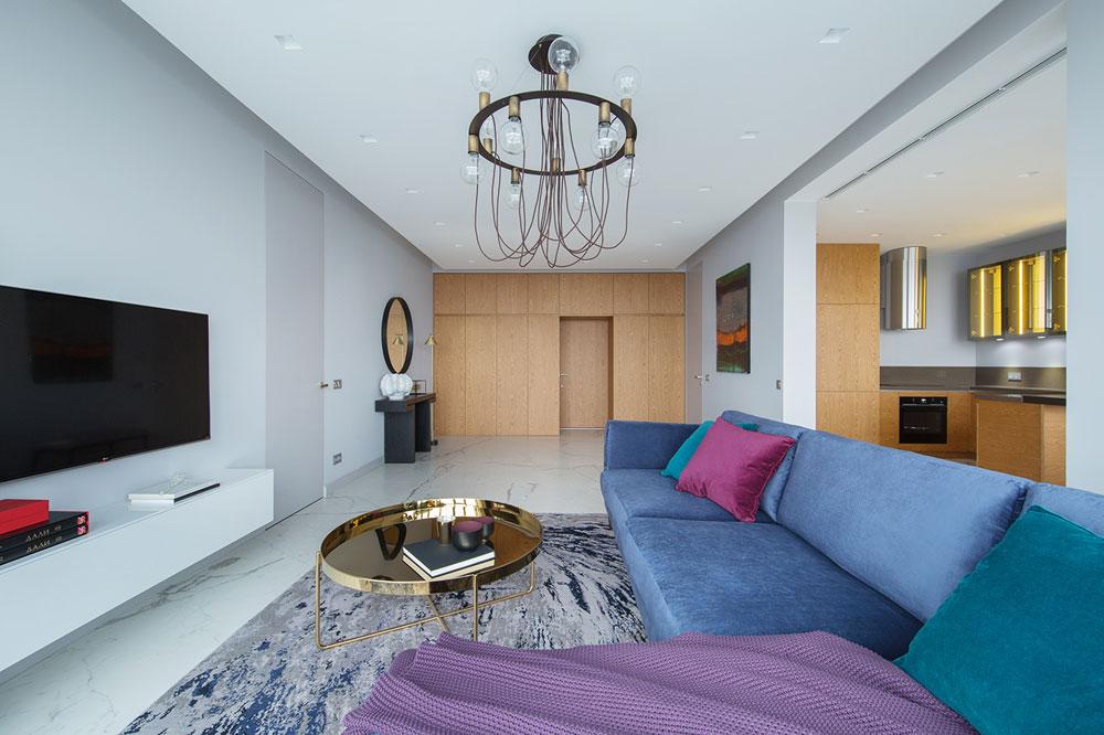 Thiết kế nội thất chung cư 70 m2 tiện nghi hiện đại