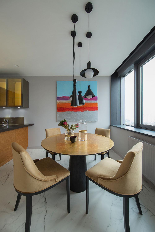 thiết kế nội thất chung cư 70 mét vuông hiện đại ảnh 8