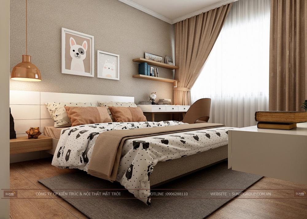 thiết kế nội thất chung cư 70m2 đẹp tại hà nội 13