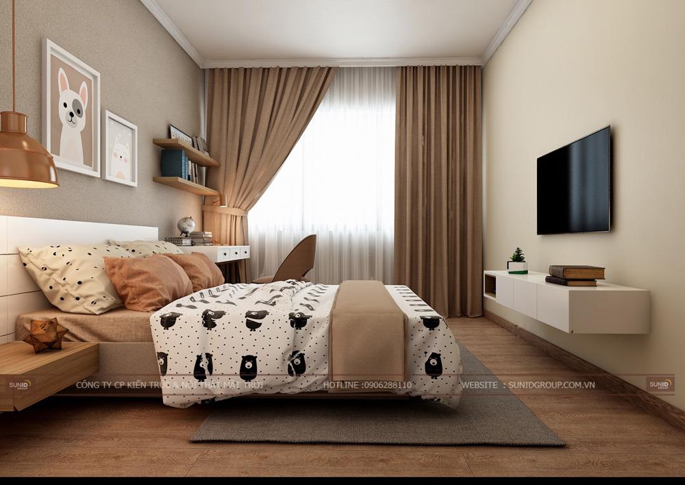 thiết kế nội thất chung cư 70m2 đẹp tại hà nội 14