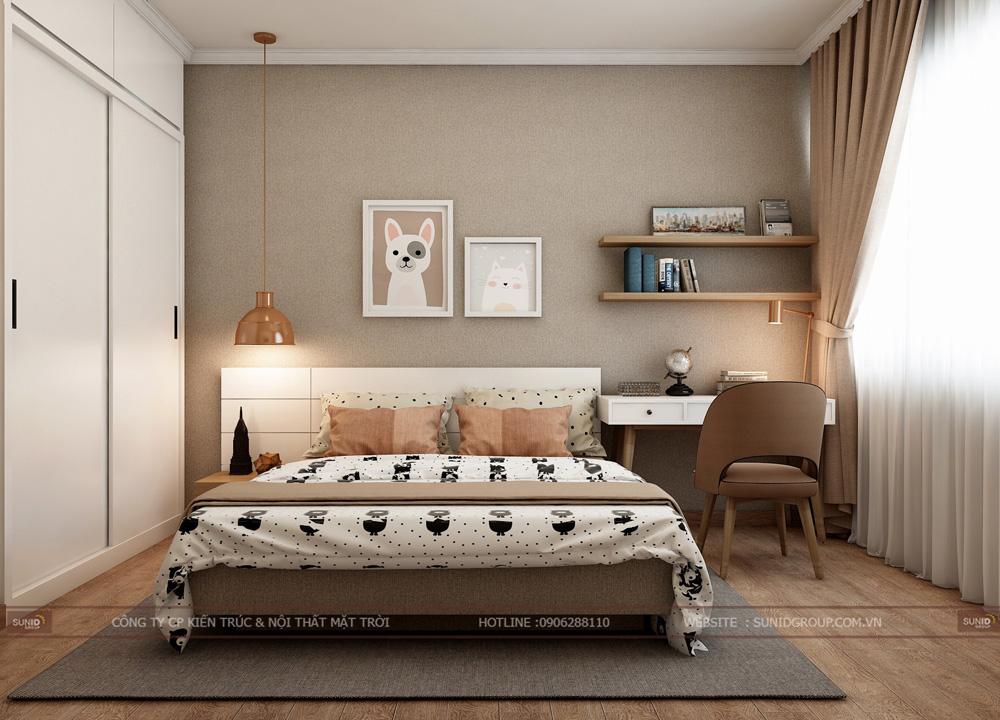 thiết kế nội thất chung cư 70m2 đẹp tại hà nội 15
